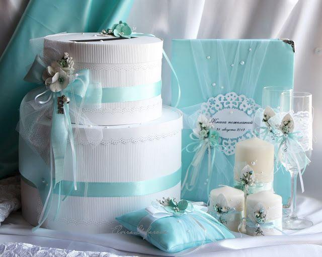 моё вдохновение: Свадьба в цвете Тиффани...продолжение
