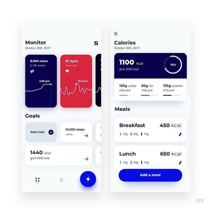 Maciel Kownacki Fitness App #ui #ux #webdesign #app