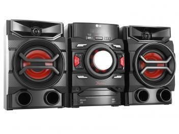 Mini System LG 1 CD 220W RMS - USB MP3 e Bluetooth CM4350