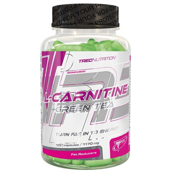 L-CARNITINE + GREEN TEA: Płynna L-Karnityna i skoncentrowany ekstrakt z zielonej herbaty w miękkich kapsułkach   Szybka redukcja podskórnego tłuszczu Synergistyczne działanie składników aktywnych Doskonale wchłanialne żelowe kapsułki