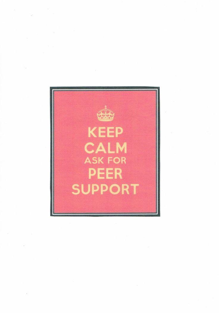 intentional peer support peer support pinterest