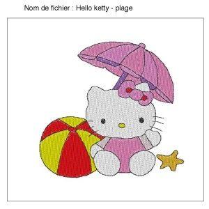 Hello ketty - plage