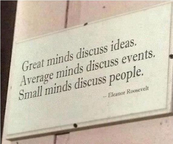 Very nicely said...