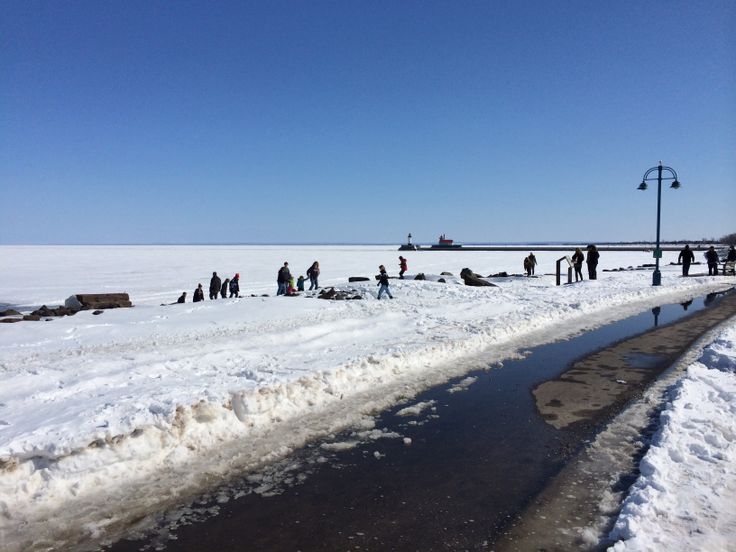 1000 images about frozen lake superior on pinterest for Fishing in duluth mn