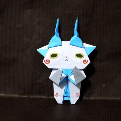 折り紙 妖怪ウォッチ コマさん