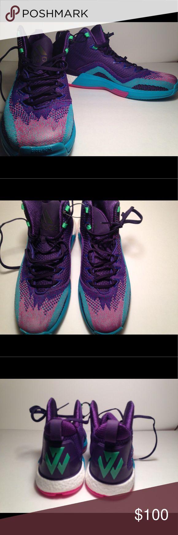 Adidas John Wall Boost 2 NWOT never worn John Wall Boost by Adidas adidas Shoes Athletic Shoes