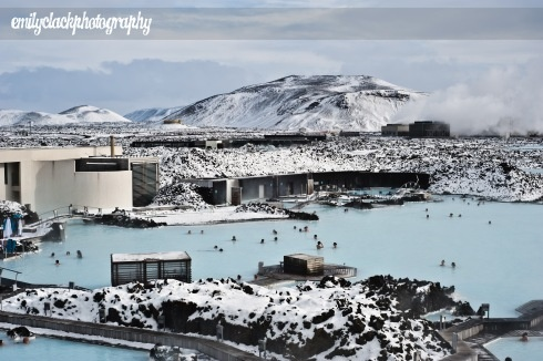 geothermal spa at the Blue Lagoon in Iceland