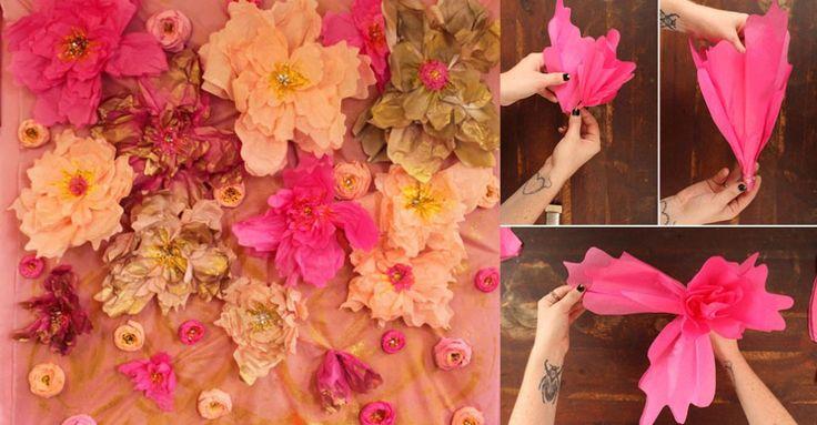 Aprenda a decorar a parede da mesa de doce | Buscando sonhos