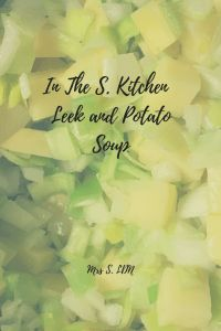 Leek and Potato Soup   Recipe   Homemade Soup   Winter Recipes at Home   Seasonal Vegetables   Cooking at Home