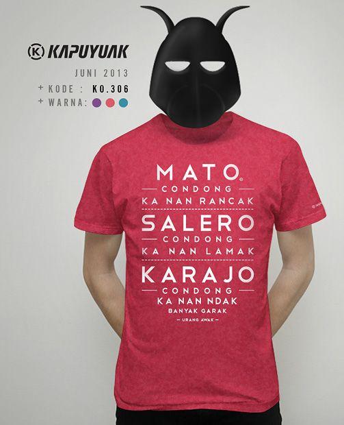 """""""Mato Condong"""" #KaosKapuyuakJuni2013"""