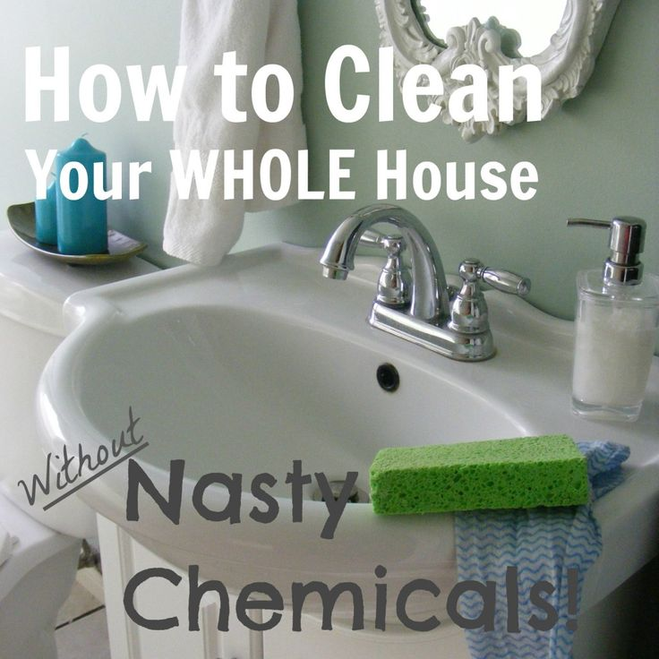 Ditch the chemicals & give natural cleaners a try. Comprehensive list room by room! Via Red and Honey