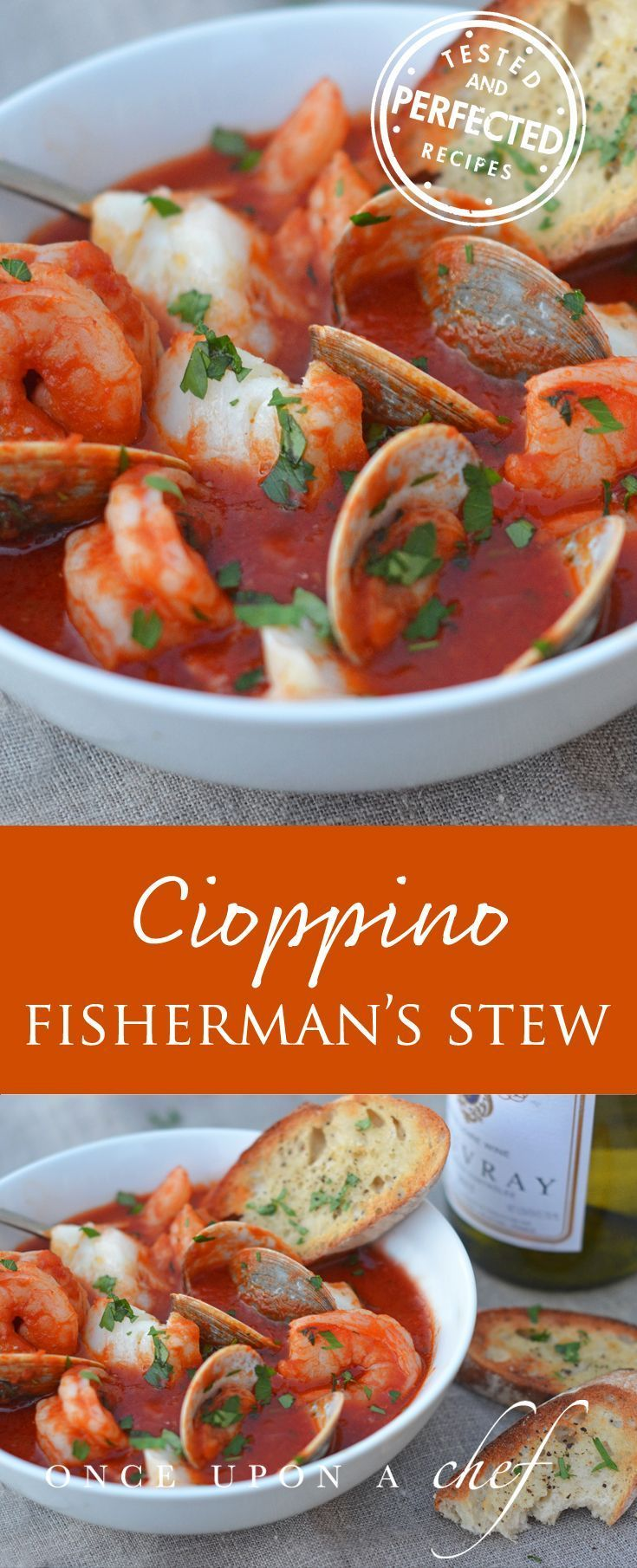 Cioppino Fisherman S Stew Once Upon A Chef Recipe Stew Recipes Seafood Dinner Recipes