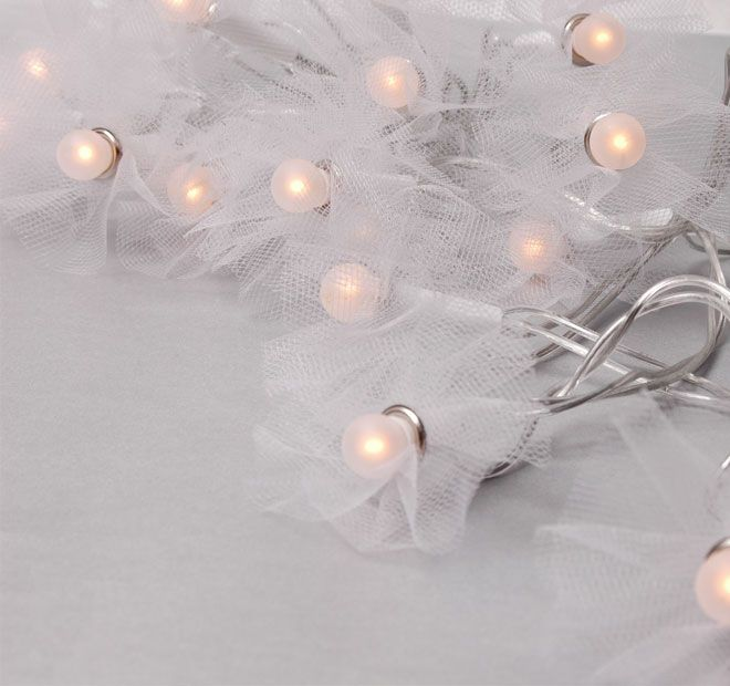 Rouge Living String Lighting Tutu White