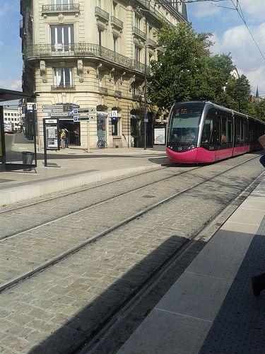 Tram #Dijon