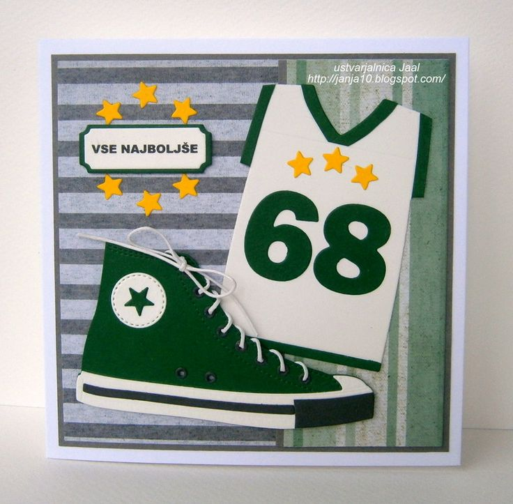 My Favorite Things Die-namics - all star high tops, jersey