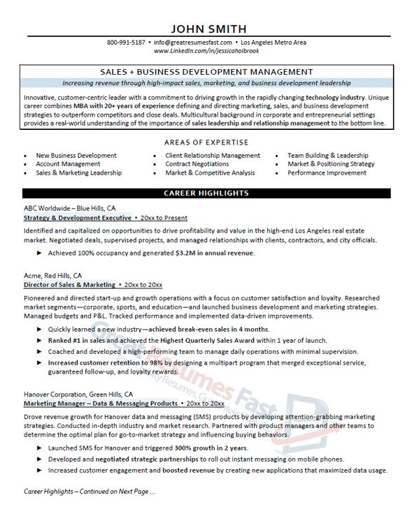 Executive Resume Writing Service | Great Resumes Fast