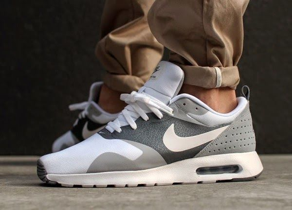 JUST LIFE STYLE™®: Nike Air Max Tavas 'White / Grey'.
