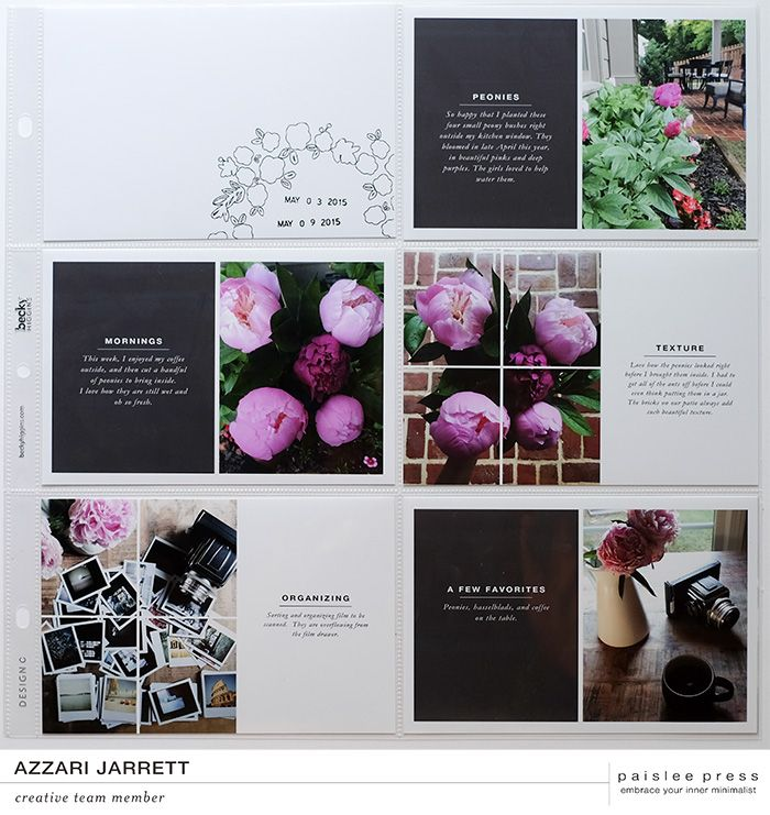 creative team projects featuring 4×6 templates vol. 5