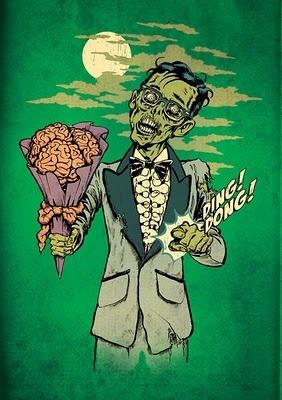 Lustiger Zombie Film