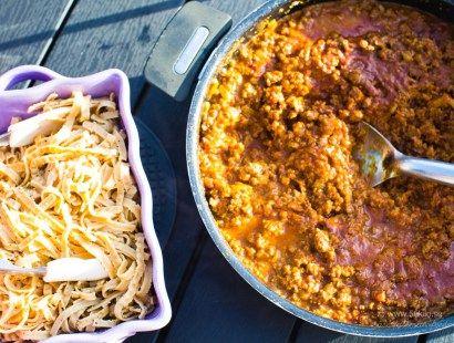 Indisk köttfärssås Garam Masala