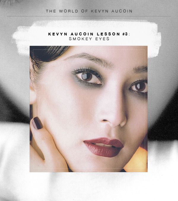 Classic Kevyn Aucoin Makeup Lesson #3: Smokey Eyes