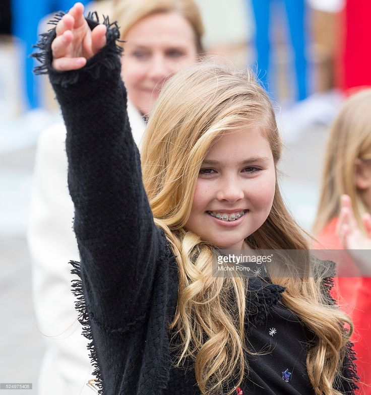 Crown Princess Catharina-Amalia of The Netherlands attends celebrations marking the King's 49th birthday on King's Day on April 27, 2016 in Zwolle, Netherlands.
