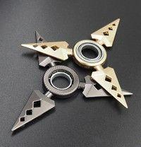 Wish | Focus Toys EDC Fidget Spinner Toys Rotary Naruto Shuriken Naruto Dragon Blade Sword in Hand with Bearing Rotating Darts