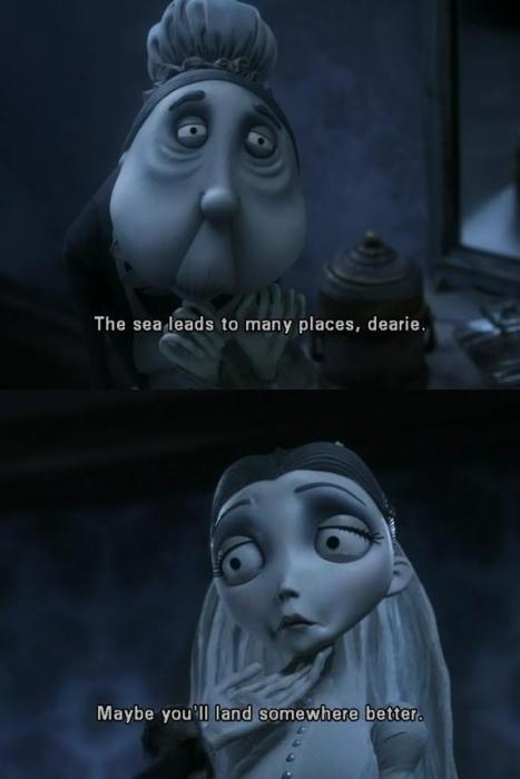 One of my favourite quotes from Corpse Bride. <3
