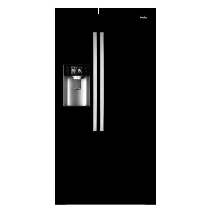 Soldes Réfrigérateur Cdiscount, achat HAIER HR550AB Réfrigérateur américain 550L pas cher prix Soldes Cdiscount 599.99 € TTC au lieu de 1 049 €
