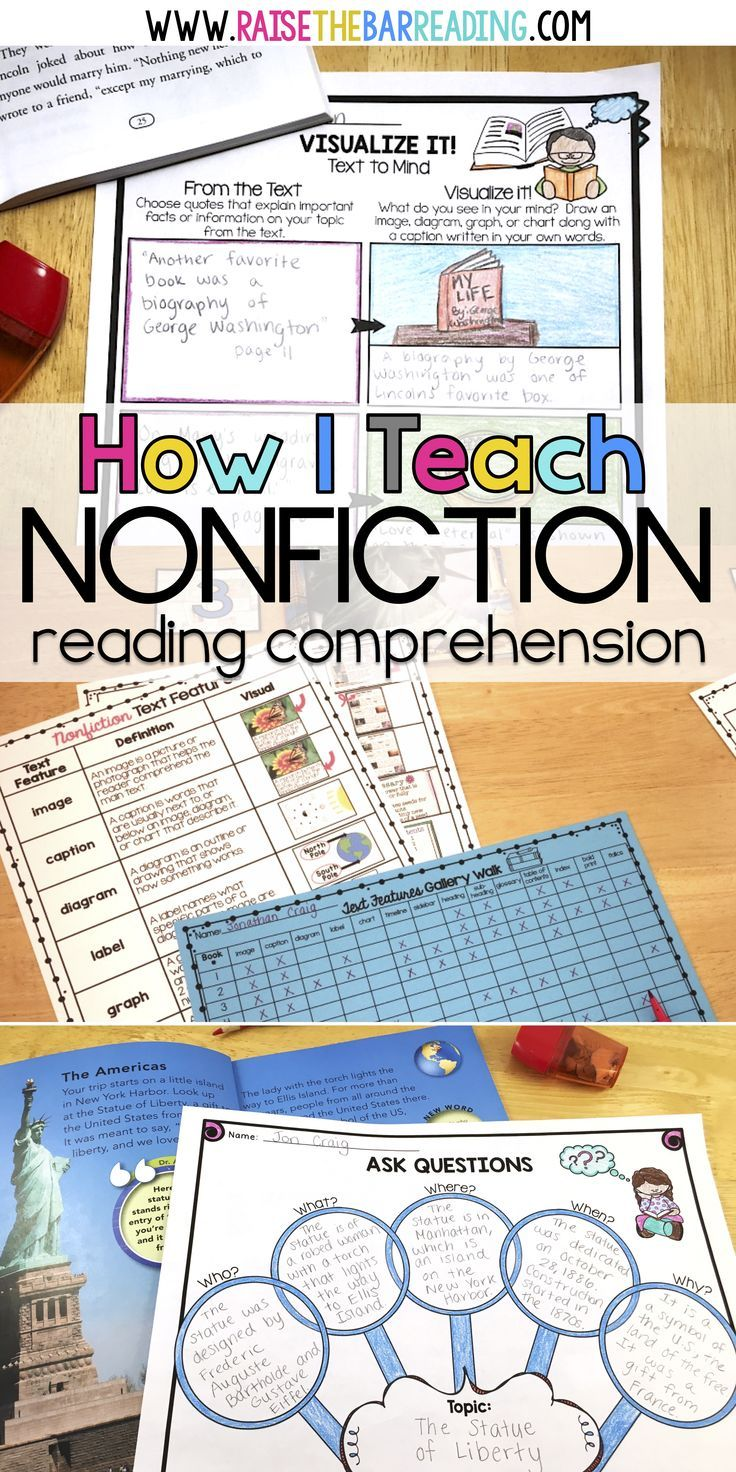 This Teaching Blog Post Describes How To Teach Nonfiction Reading Or Informational Text In Your Nonfiction Comprehension Teaching Nonfiction Nonfiction Reading How to teach reading comprehension ks2