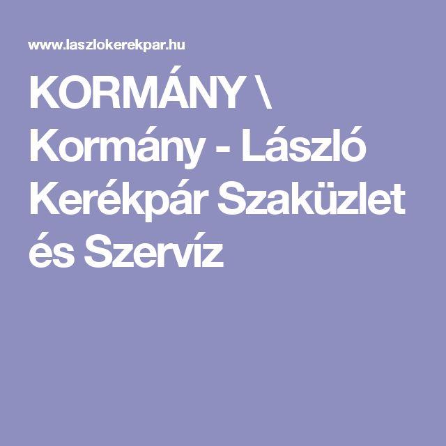 KORMÁNY \ Kormány - László Kerékpár Szaküzlet és Szervíz