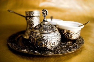 Turkish coffee set !  I had Turkish coffee while in Israel and LOVED it!