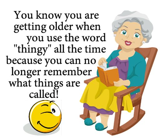 Tri Cities On A Dime: LAUGH FOR THE DAY - GETTING OLDER
