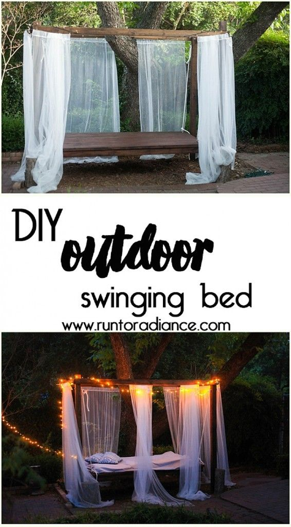 Best 25 Outdoor swing beds ideas on Pinterest