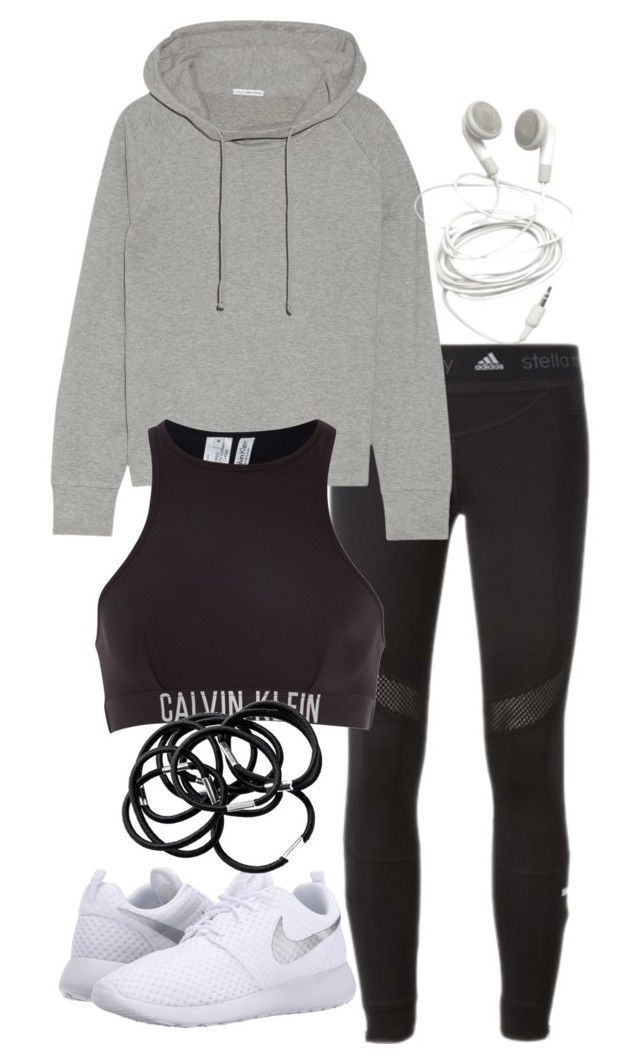 """""""Untitled #3211"""" by theeuropeancloset on Polyvore featuring adidas, James Perse, NIKE, Calvin Klein and H&M"""