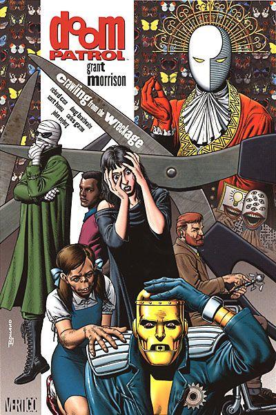 doom patrol - grant morrison: Doom Patrol, Books, Brian Bolland, Graphic Novels, Dc Comics, Comic Book, Grant Morrison S, Wreckage 9781563890345