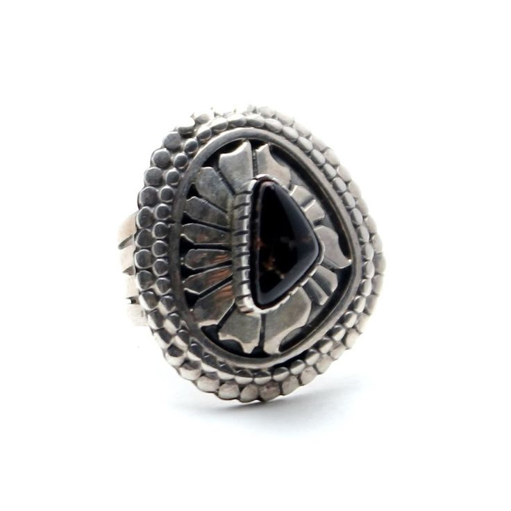 Shield Vintage Native American Ring