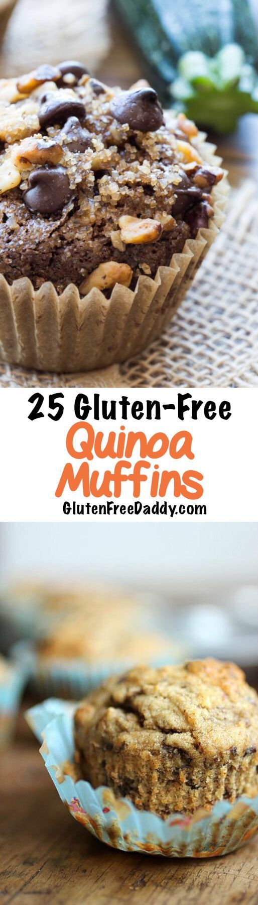 I was pleasantly surprised when I found 25 gluten-free quinoa muffins recipes. Quinoa is a delicious protein that can be very filling.