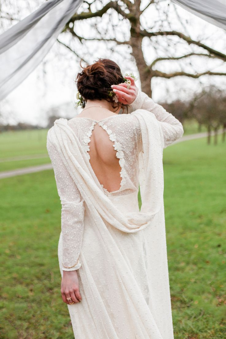 FESTIVAL BRIDES | A Beautiful and Intimate Bohemian Winter Elopement