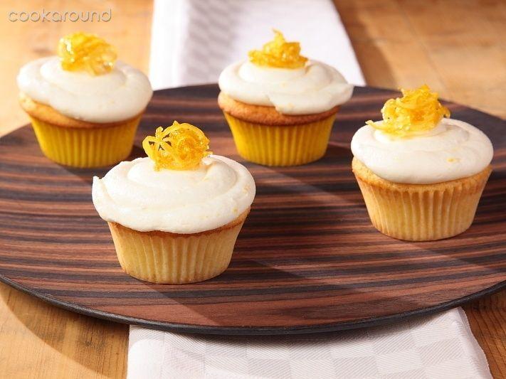 Cupcakes al limone con crema al burro al limone ~ Lemon Cupcakes
