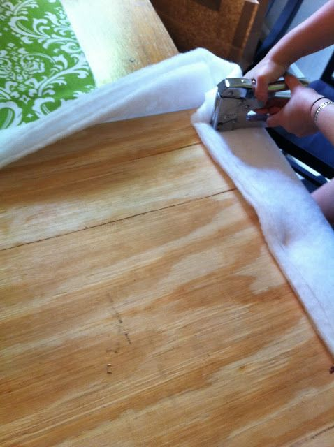 I recently made headboards for my daughter's dorm room bed in her sorority house. This is a super-easy project.                  While I wa...