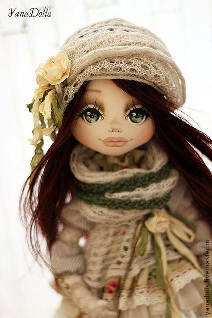 Barbara - салатовый,кукла ручной работы,кукла,кукла в подарок,кукла текстильная