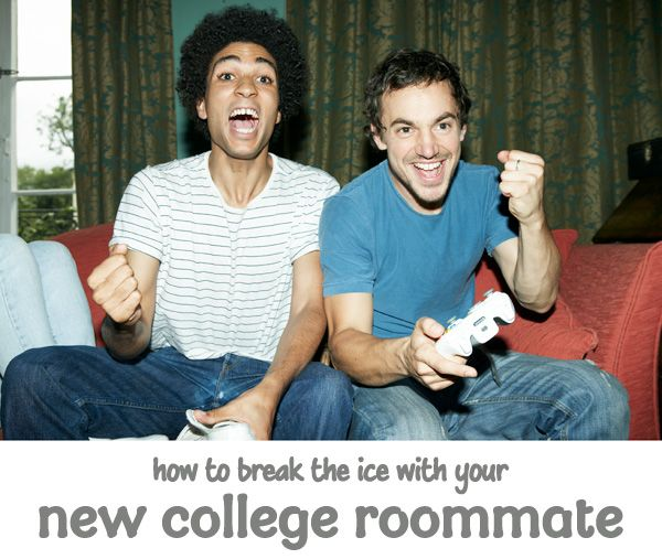 One of the most unnerving aspects of college is meeting the person with whom you will be sharing a small dorm space. Here are some suggestions on how to break the ice with your new college roommate.