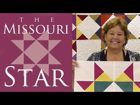 The Disappearing Hourglass 2 Quilt: Easy Quilting Tutorial with Jenny Doan of Missouri Star Quilt Co - YouTube
