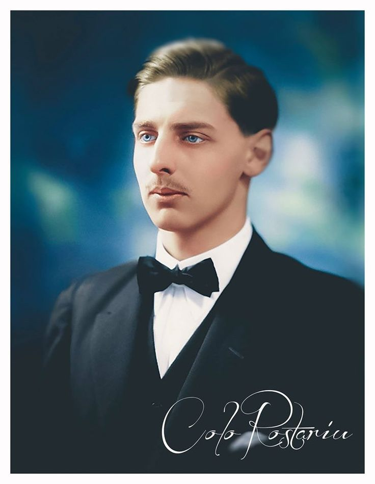 Prince Nicolae (15 august 1903, Sinaia - 9 iunie 1978,Lausanne)the second son of King Ferdinand of Romania and Queen Maria of Romania(brother with King Carol II of Romania