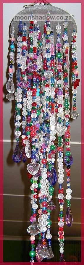 Bead Cascade hand-crafted at #Moonshadow #Gift Shop in #Swellendam (#SouthAfrica)