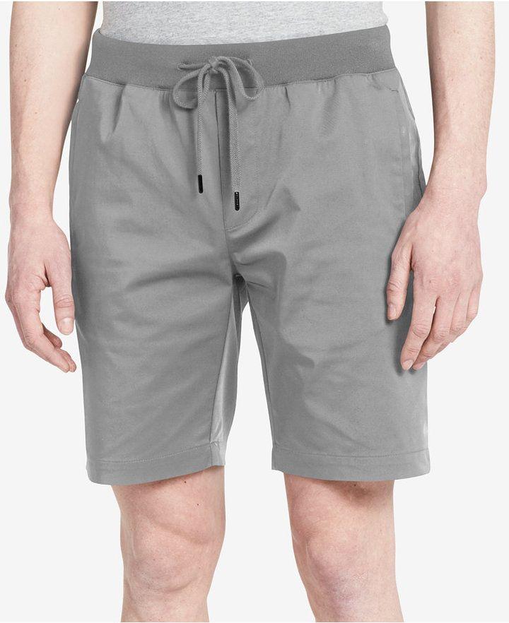 """Calvin Klein Men's Slim-Fit Stretch 9"""" Shorts"""