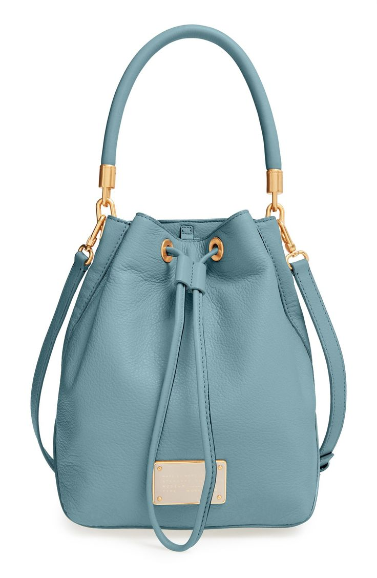 It's all in the name....this MARC BY MARC JACOBS 'Too Hot to Handle' drawstring bucket bag is, too hot to handle.