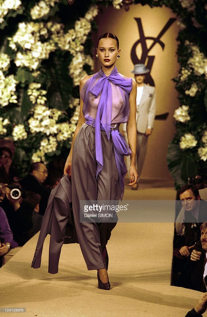 591 best yves saint laurent images on pinterest fashion for Couture france