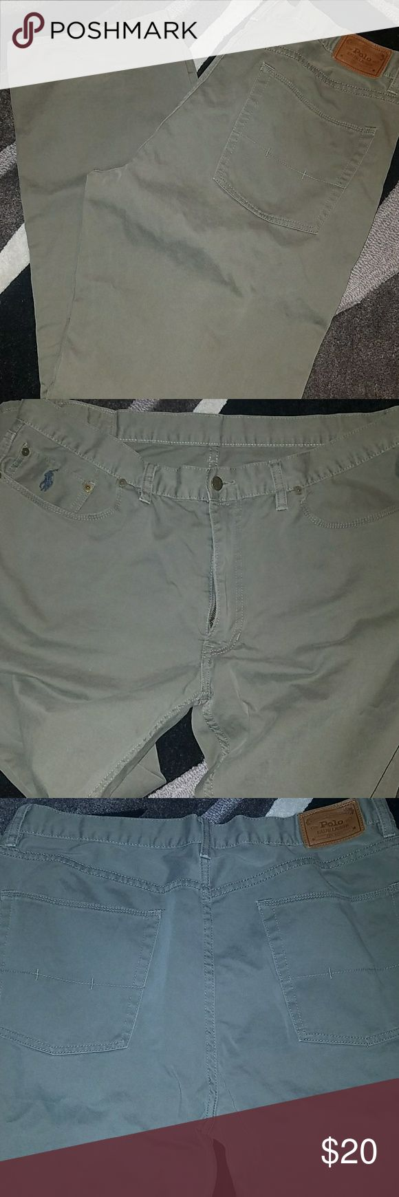 Mens pants Mens Ralph Lauren Polo khaki jeans Ralph Lauren Pants Chinos & Khakis